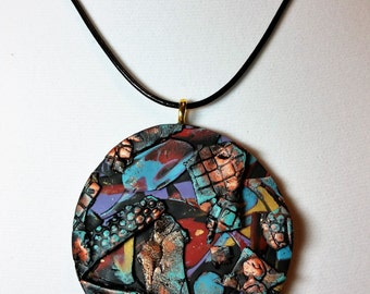 Study in Textures Pendant I Necklace