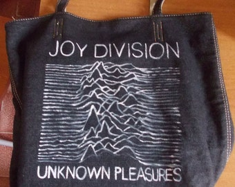 Joy Division Unknown Pleasures Purse Bag