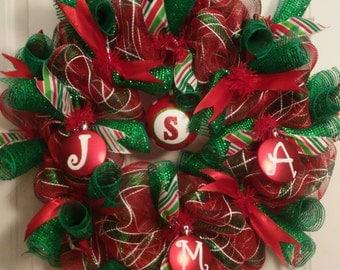 Christmas Wreath - Custom Design