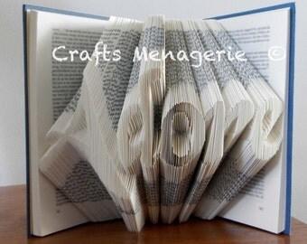Faith/ Adore/ Dream/ Read - Bookfolding Gifts and keepsakes