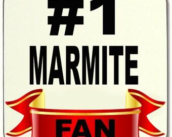 No.1 #1 MARMITE FAN Beverage coaster