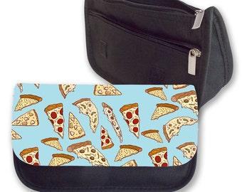 Pizza Pencil case/ Make up bag