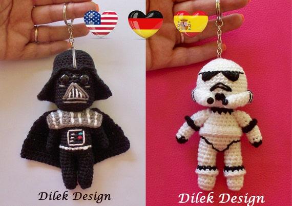 Amigurumi Sushi Pattern Free : Amigurumi Crochet Pattern Star Wars Darth Vader