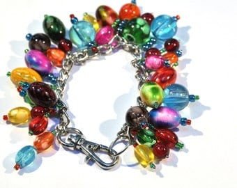 Bracelet with various colors galskralen