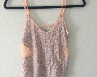Floral Tank Top - Urban Outfitters