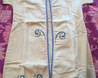Vintage Embroidered Baby Kimono