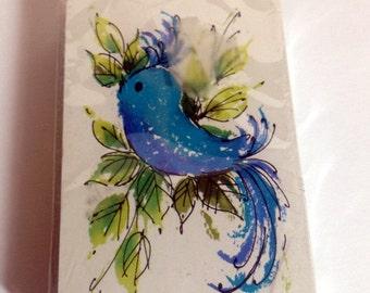 Vintage Stardust Deck of Cards with Blue Bird, Nu-Vue coating