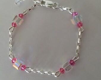 Crystal Baby Bracelets