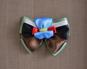 Disney Inspired Jiminy Cricket Hair Bow