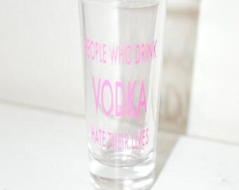 Custom Shot Glasses: Bachelor Party / Bachelorette