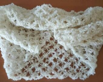 Infinity scarf crochet stitch witch-woman woman infinity scarf