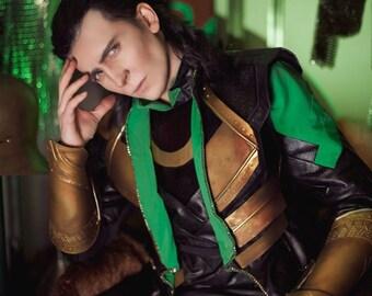 Loki cosplay costume avengers thor the dark world marvel comics