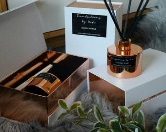 Luxury copper 200ml diffuser in gift box