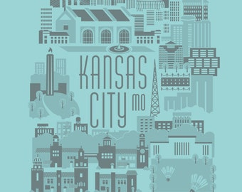 Kansas City Art Print