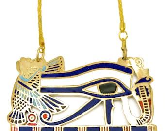 The Eye of Horus is an ancient Egyptian Eye symbol pendant 99x58mm