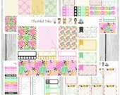 Freestyle Planning - Golden Blossoms - planner stickers