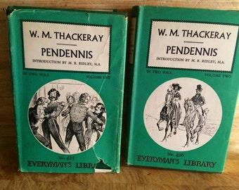 Pendennis - W M Thackeray - classic english novel - 19th century novel - London novel - vanity Fair -