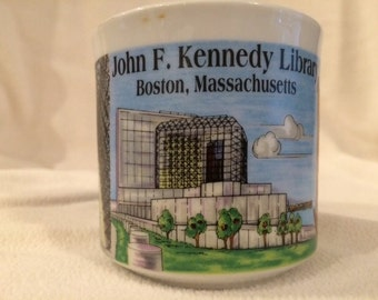 John F. Kennedy Library mug