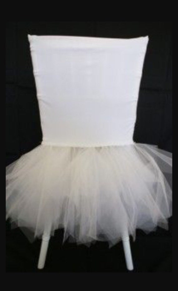 tutu chiavari chair cover chair cover wedding baby shower bridal