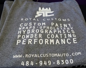Royal Customs Grey Tee
