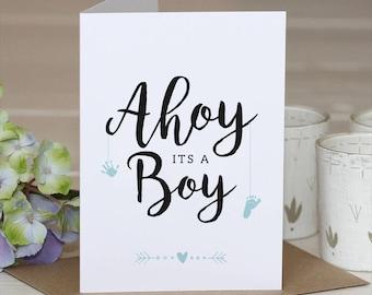 Its a boy card // Its a boy // baby born card // baby born // new baby // baby boy