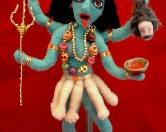 Kali Goddess hindu doll