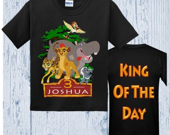 Lion Guard Birthday Shirt - Lion Guard Shirt - Several Styles Available