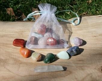 Chakra/Rainbow Crystal Set