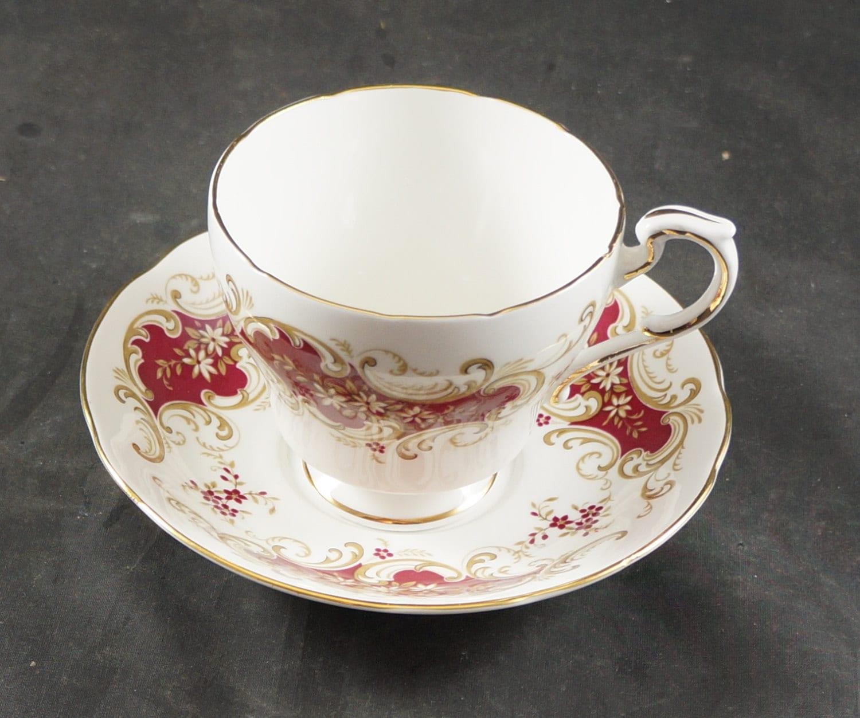 PARAGON Fine Bone China Cup & Saucer MAJESTIC Pattern