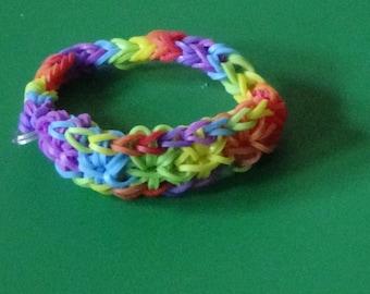 Rainbow Starburst Bracelet