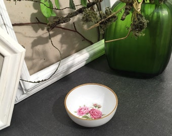 """Bowl with gold trim, AK Emperor from the series """"MOSS rose HC"""""""