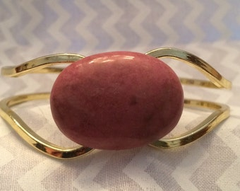 SALE! Pink Jasper Bracelet