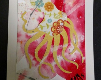Octopus - ArtCardz - Creatures Great and Small line