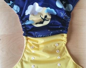 Peter Pan Cloth Diaper Cover