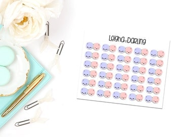 Contact Lens Case/Optical Eye Care Planner Stickers