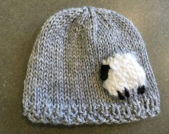 Lamb Baby Hat