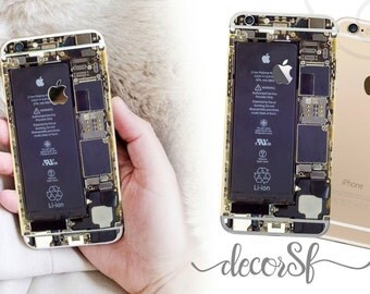 Inside of iPhone 6 wrap skin - iphone skins - covers for iphone - just the back - cover - decal - sticker