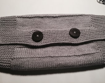 pure wool neck warmer