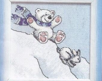 Cross Stitch Kit Slide