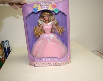 Disney Sleeping Beauty Sparkle Eyes Doll