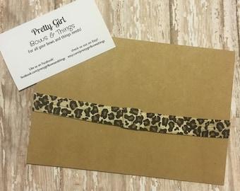 Leopard Print Headband Elastic