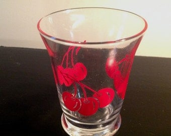 Cherry Juice Glass