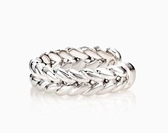 SHINE GOURMETTE LOCKED ring