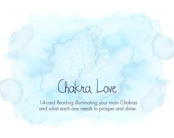 Chakra Love Tarot Oracle Reading