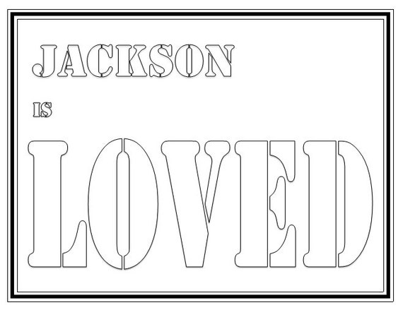 make my name coloring pages - photo#23