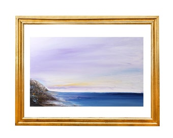 Canvas Painting Seascape Fine Art Oil Painting Sea On Canvas Beach Painting  landscape painting abstract painting