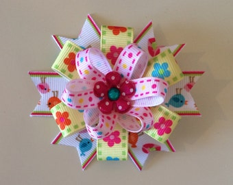 Bright & Cheery Hairbow