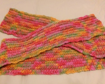Multi-color winter scarf - FREE SHIPPING