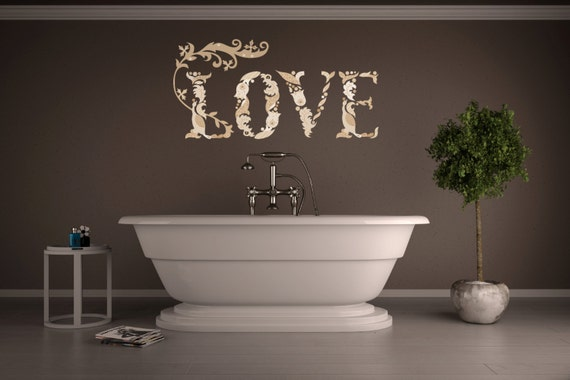 Love Wall Decal by BdrHomeDecor