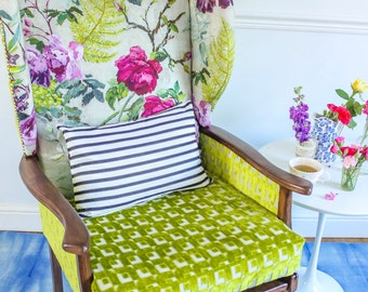 Crazy For You - 1960's Vintage Wing Chair